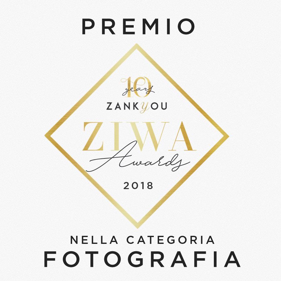 """""""Siamo molto felici di annunciare che … abbiamo vinto il premio regionale Zankyou International Wedding Awards de 2018! Questo premio ci riconosce tra i migliori professionisti per matrimoni del 2018."""