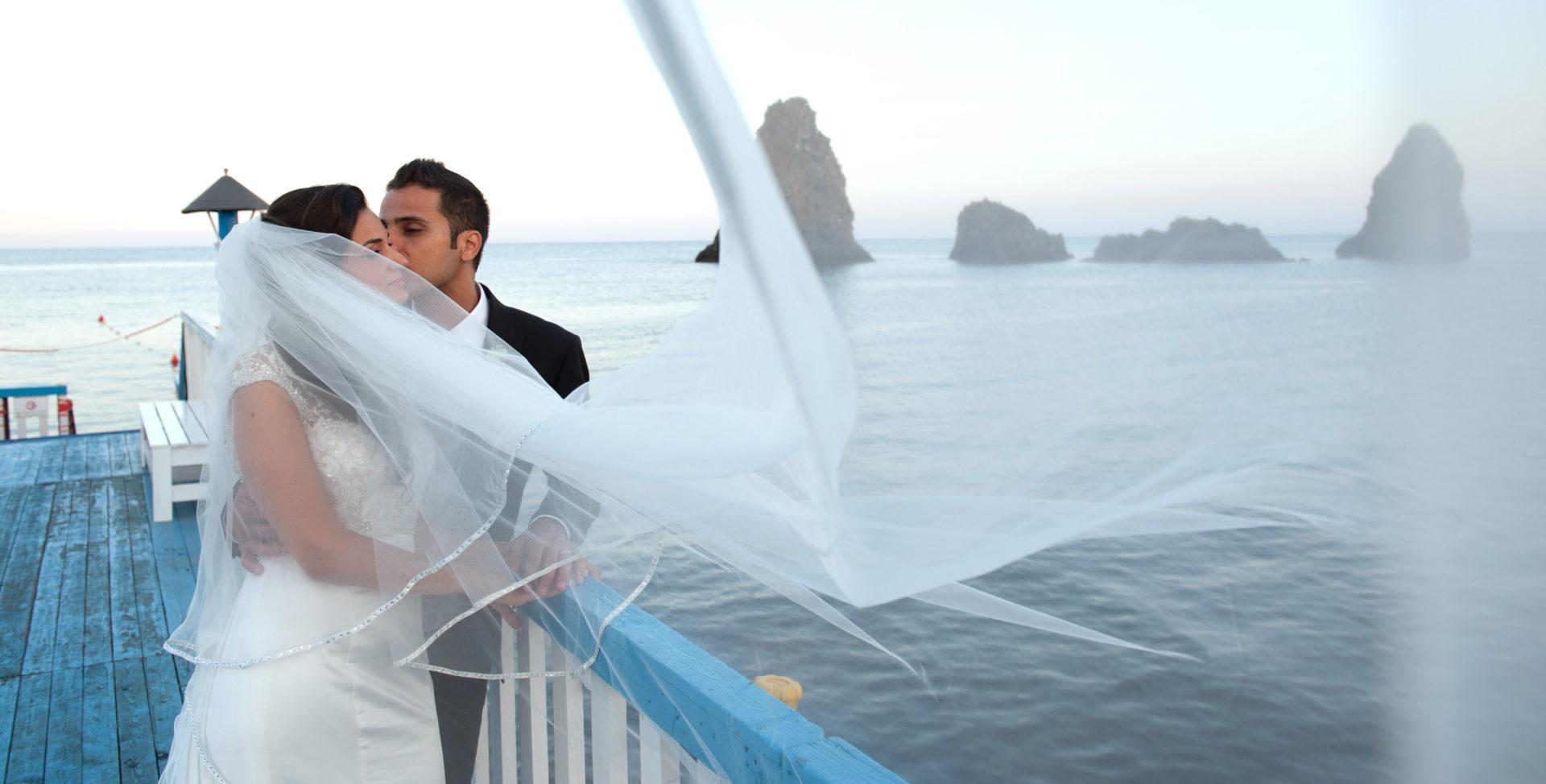 foto di matrimonio acitrezza