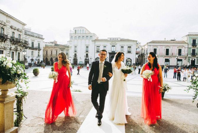 Il rito d'ingresso secondo il galateo del matrimonio